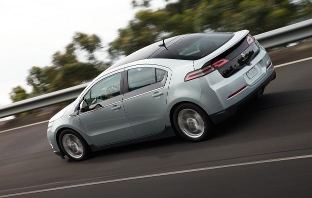 Holden Volt Aka Chevrolet Volt Opel Ampera Electric Highway